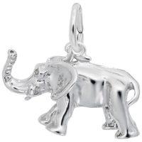 African Elephant Charm