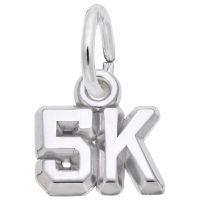 5K Race Accent Charm