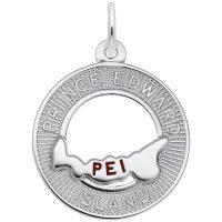 prince edward island silver charm