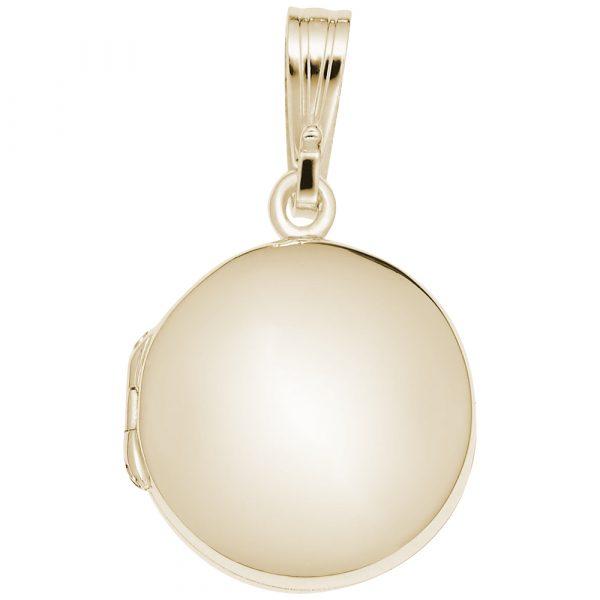 Circle Locket-Gold