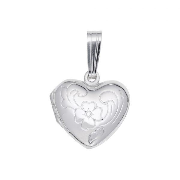 Heart Locket-Silver